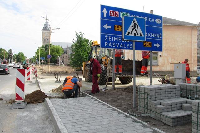 Miesto aikštės rekonstrukcija
