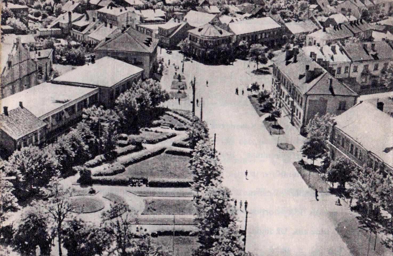 miesto aikste mazdaug 1973