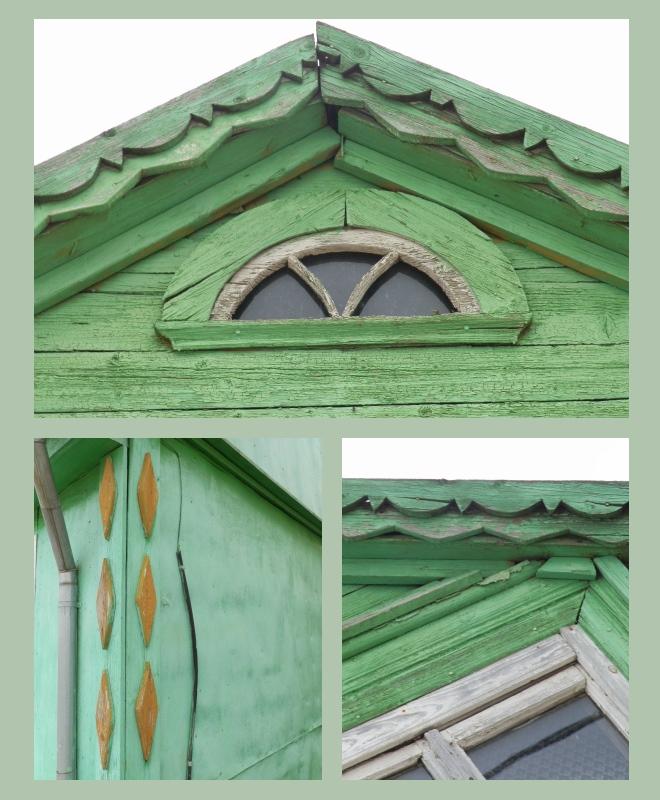 Žagarės mediniai namai
