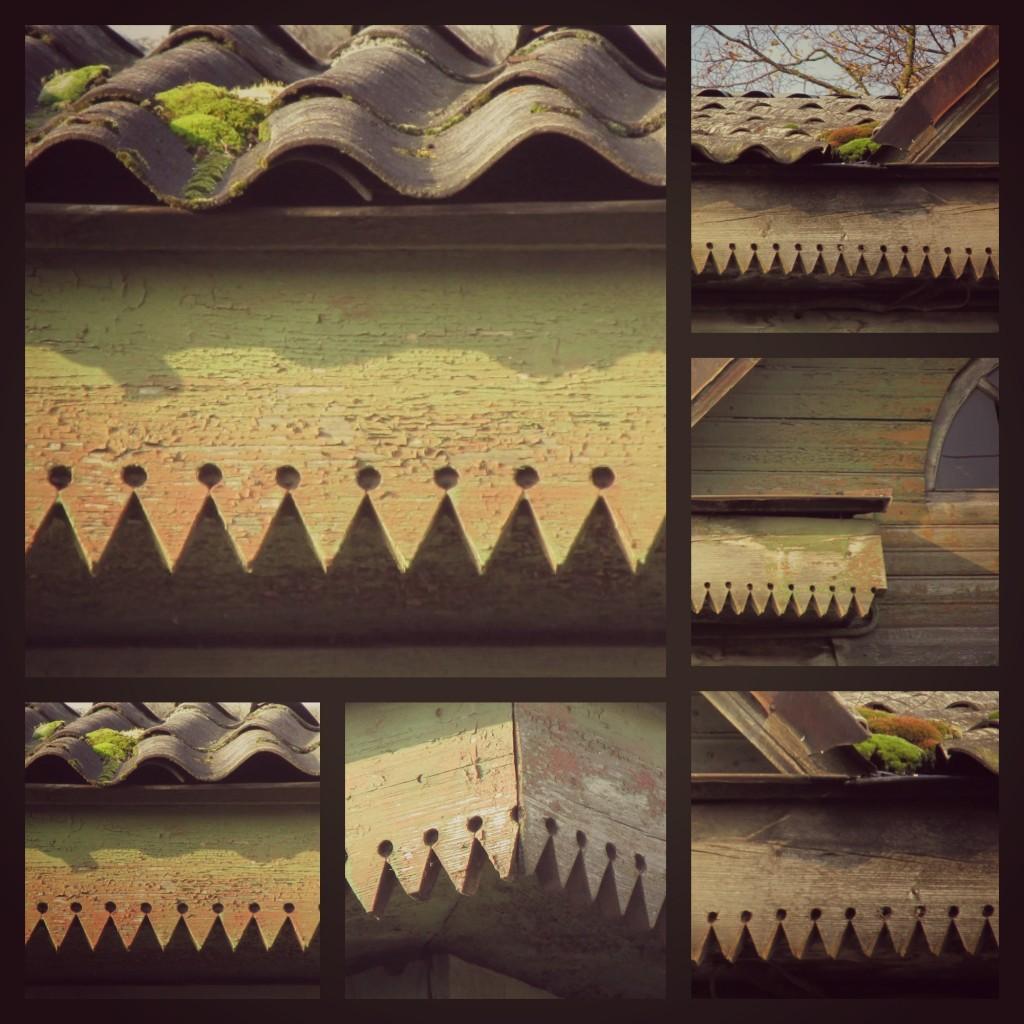Medinių namų ornamentai Joniškyje