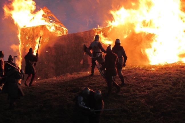 Sidabrės sudeginimas