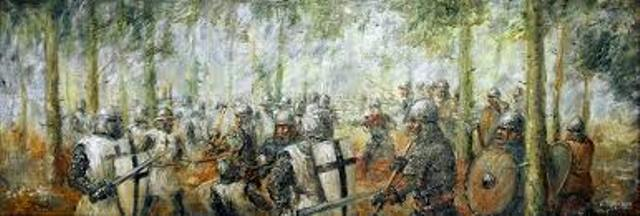 Garuozos šilo mūšis. Slapšys