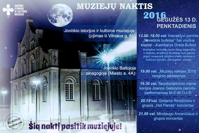 muzieju naktis
