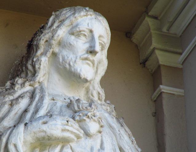 baznycios skulptura