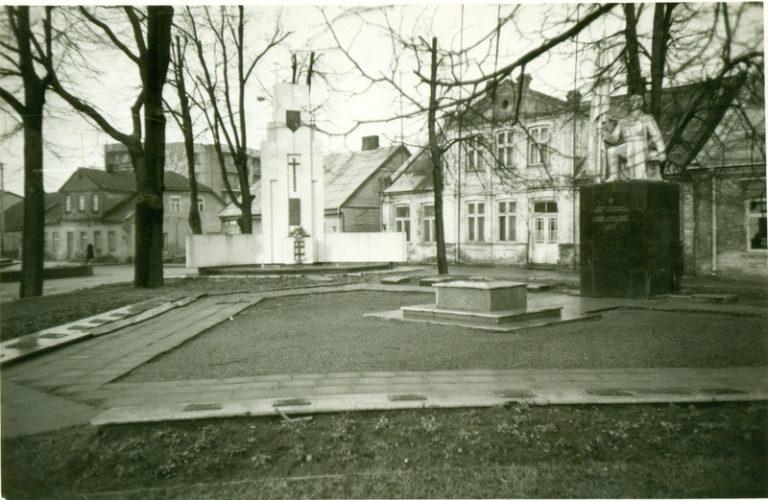 1990 m. vasaris © Joniškio istorijos ir kultūros muziejus
